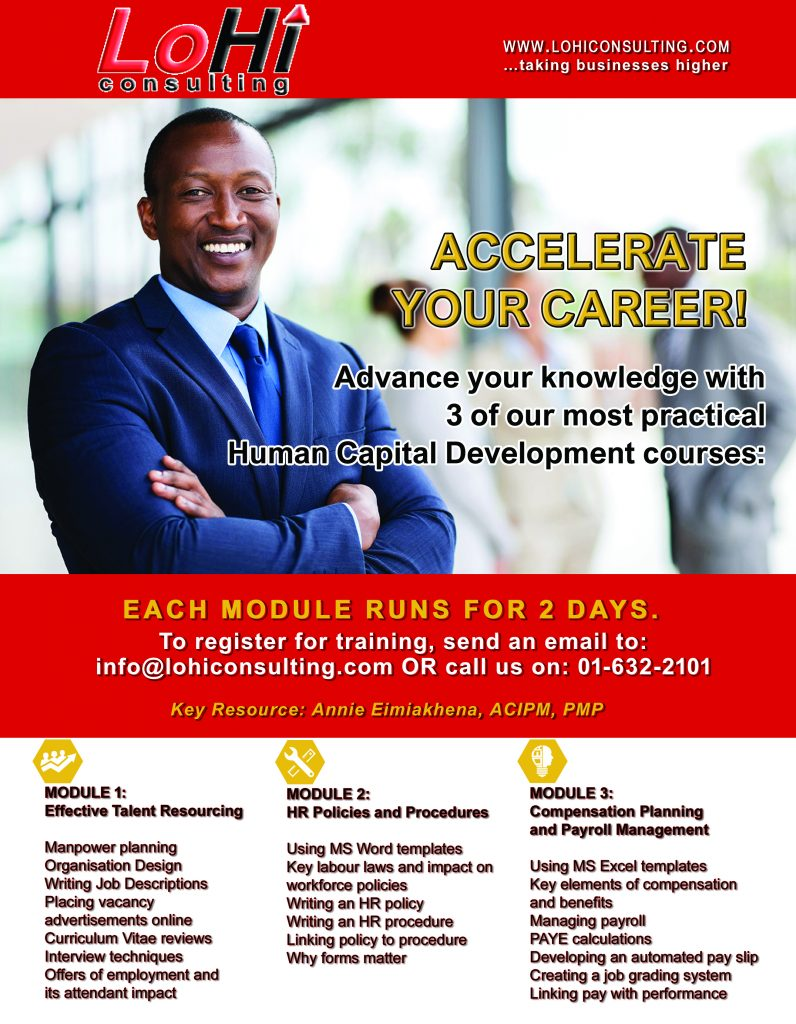 Click to download our HR Training Flyer